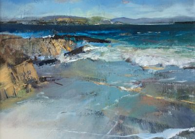 Distant shores, Iona. Kim Jarvis