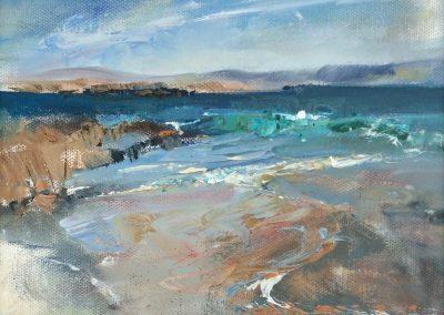 Emerald tide, Iona. Kim Jarvis