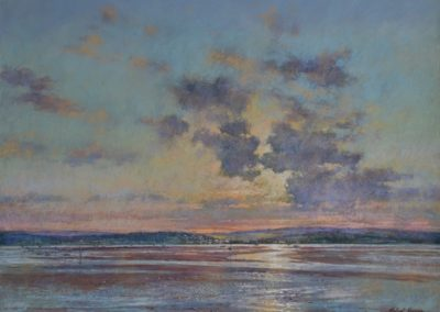 Evening, Exe Estuary. Michael Norman