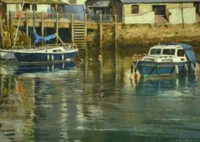 High Tide, Polperro. Michael Norman