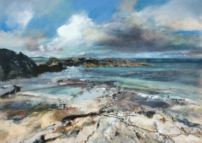 Storm tide, Iona. Kim Jarvis