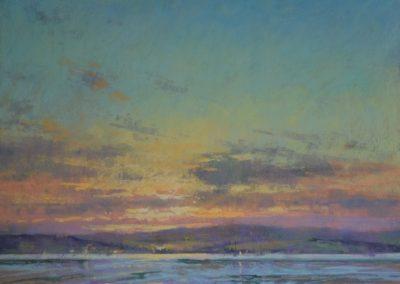 Sunset, Exe Estuary, Michael Norman