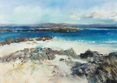 The White Strand of the Monks, Iona. Kim Jarvis
