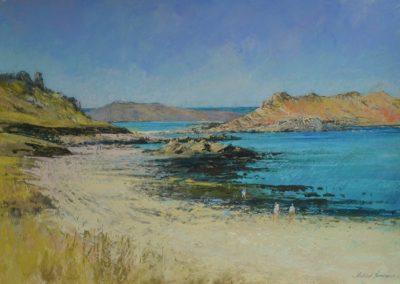 Towards White Island, St Martins. Michael Norman