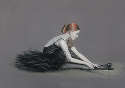 Aimee, Pastel 40 x 56 cm, Ric James