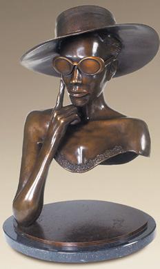 Ascot, Bronze, 22 x 16 inches, Ric James