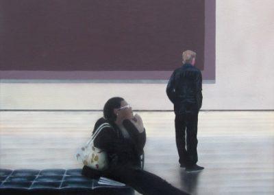 Rothko, Acrylic on Canvas, Ric James