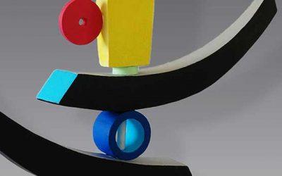 Colourful Sculpture – Patricia Volk