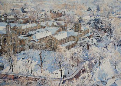 Aerial View, Cheltenham College