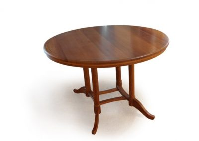 Derek Elliott, Circular Table, Pau Rosa