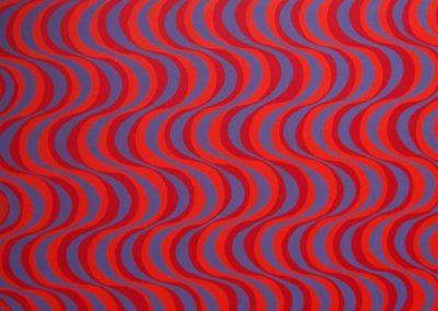 Ebb & Flo 1, Limited edition print, 76 x 76 cm