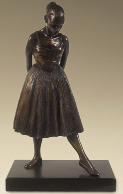 Lucy, signed bronze