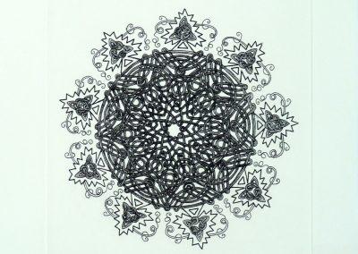 Meg-Dutton-Knot-Print-Homage-to-Durer.