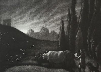 Mychael-Barratt-Samuel-Palmers-Dog
