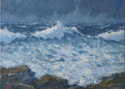 Sea Study, Rocky Shore II