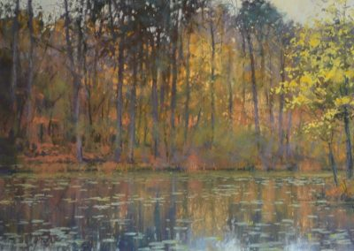 The Lake in Autumn, Michael Norman