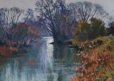 The River Otter in Winter, Michael Norman
