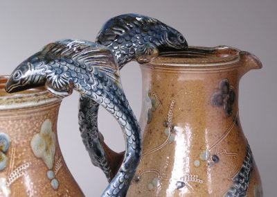 Toff Milway, Jugs with Fish Handles