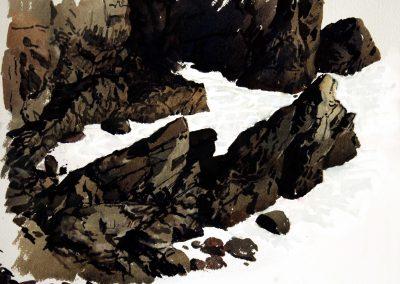 Kynance Rocks.