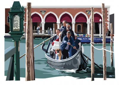 Crossing the Grand Canal LR