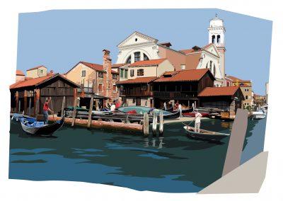 Gondola boatyard LR
