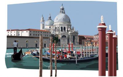 Leslie Gerry, Venice